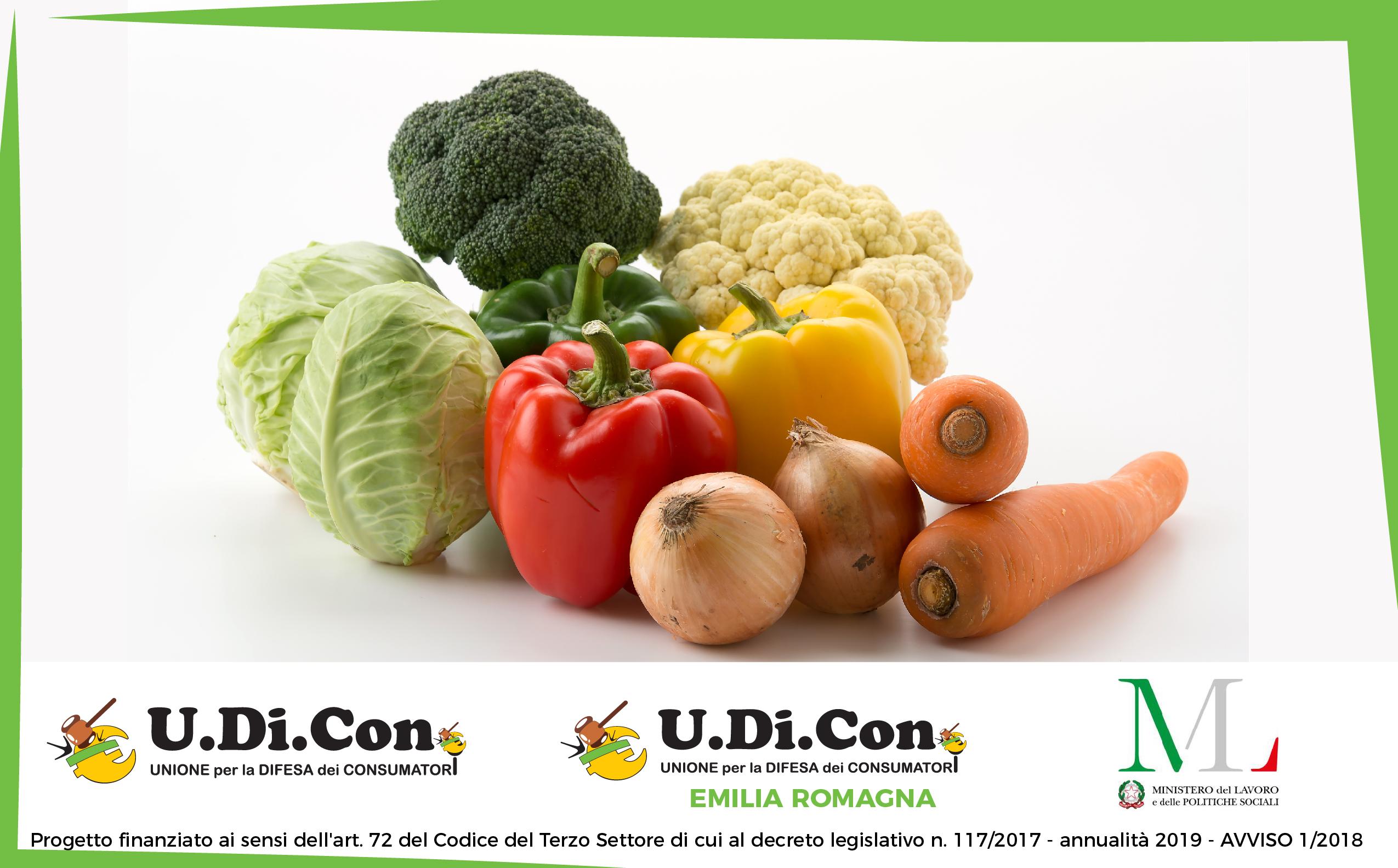 Frutta e verdura di stagione fanno bene a noi e all'ambiente