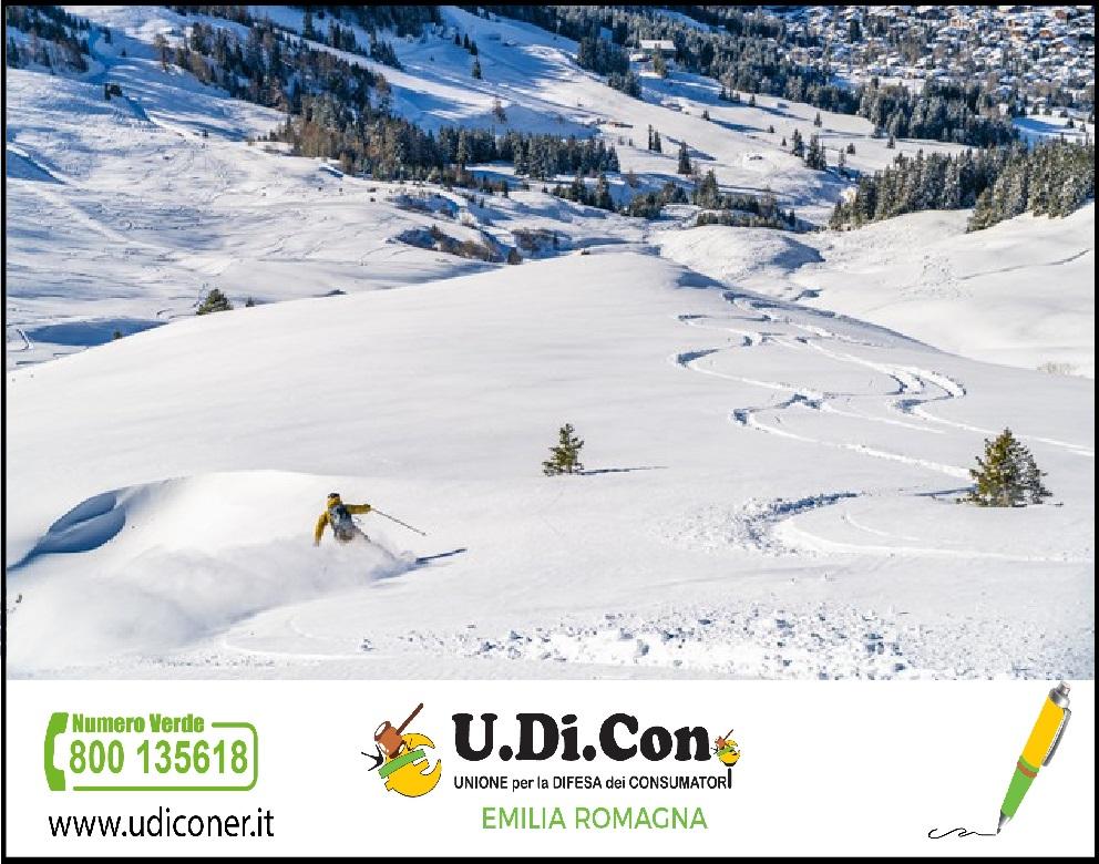 Chiusura piste da sci: la voce di U.Di.Con