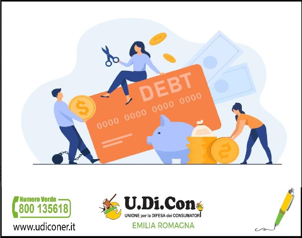 Indebitamento da Covid, U.Di.Con attiva un servizio di consulenza