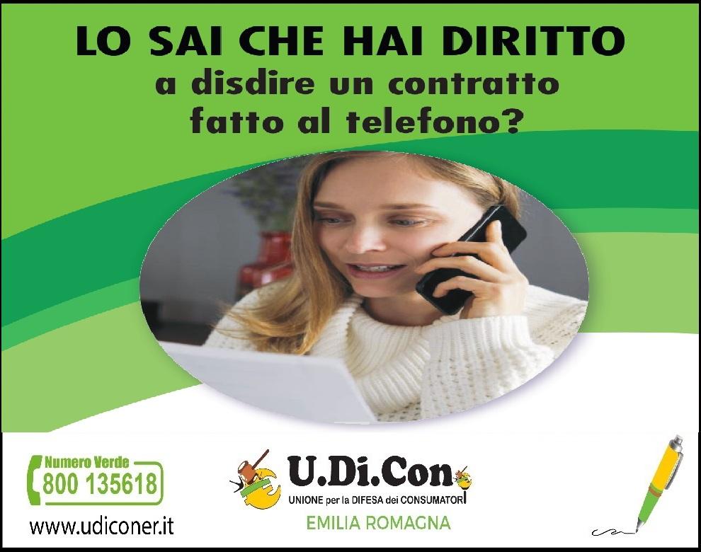 LO SAI CHE HAI DIRITTO... a disdire un contratto fatto al telefono?